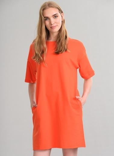 Agenda Basic Elbise Oranj